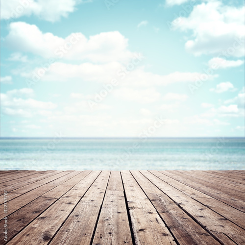 Fotomural Summer vacation background