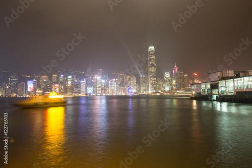 Photo  Hongkong night