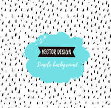 Grunge Simple Textured Universal Background. Vector Illustration For Invitation, Poster, Card Or Flyer.