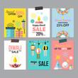 Diwali Hindu festival sale flyer design for social media