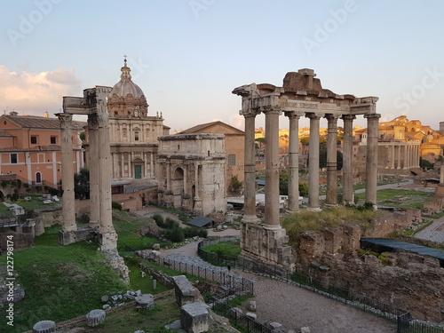 Recess Fitting Rome Forum Romanum in Rome