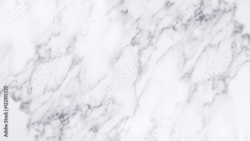 Foto auf AluDibond Steine White marble texture and background.