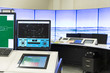 Air Traffic Services Authority control room monitors