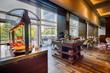 canvas print picture - breakfast in Modern hotel restaurant interior
