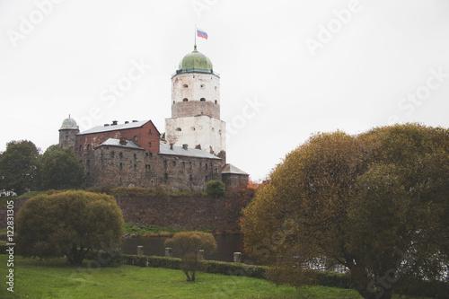 Vyborg Castle. Olaf Tower Poster