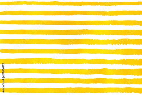 Watercolor hand drawn stripe pattern.