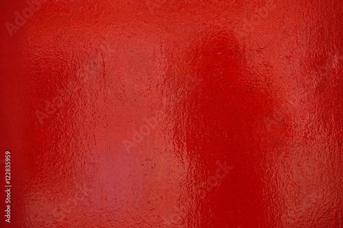 Fotografía Glänzende rote Oberfläche