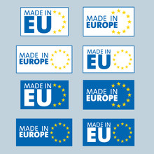 Made In European Union Labels
