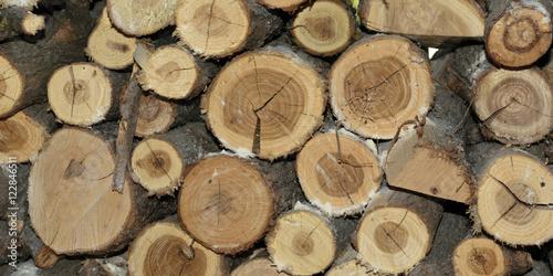 Recess Fitting Firewood texture Log stack texture firewood - panorama