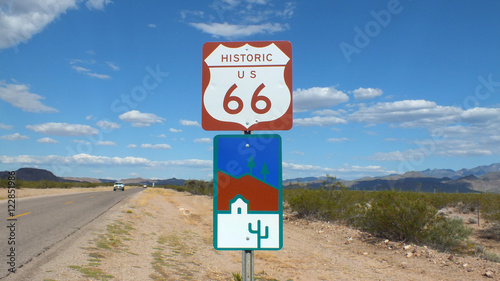 Poster Route 66 Route 66 Sign