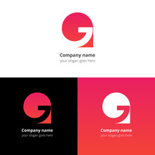 Letter G Logo Icon Flat And Ve...