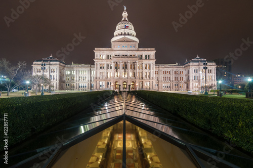 Poster Texas Texas State Capital Wide