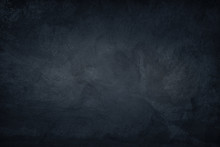 Dark Blue Concrete Background
