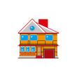 House. Vector icon.