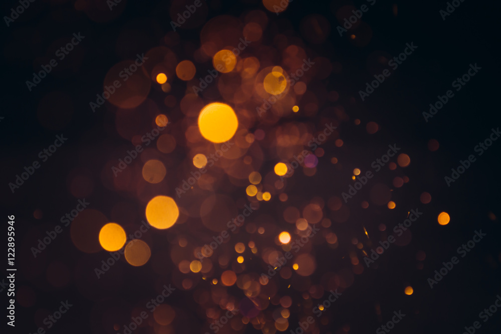 Fototapeta gold bokeh background