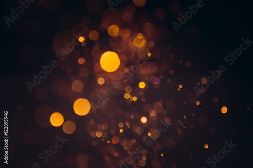 gold bokeh background Fototapet
