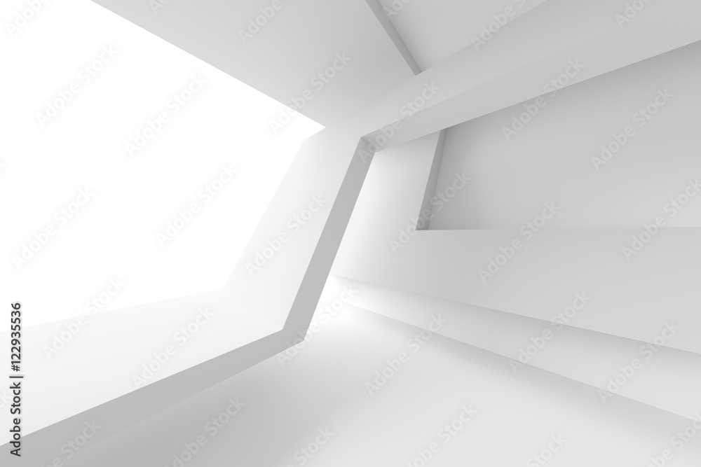 Fototapety, obrazy: White Modern Interior Design