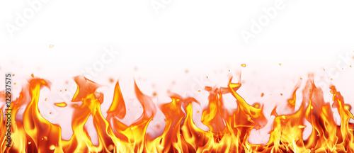 Fotobehang Vuur Abstract fire flames background