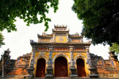 Fotografia Citadel, Hue city, Vietnam. UNESCO World Heritage Site