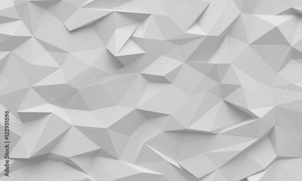 Fototapety, obrazy: Polygon background texture