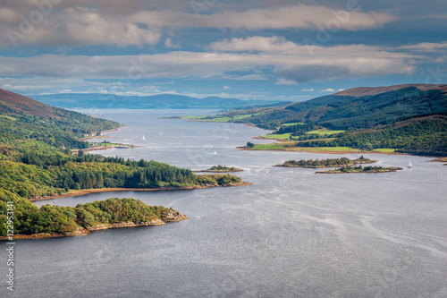 Photo Eastern Kyle of Bute, in the Kyles of Bute, also known as Argyll's Secret Coast,