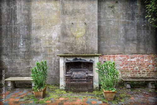 Foto op Aluminium Rudnes Abandoned Room