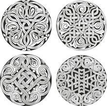 Set Of Round Knot Decorative P...