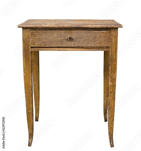 Alter Antiker Esstisch Tisch Um 1920 Buy This Stock Photo And