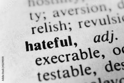 Photo  Hateful