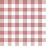 Checkered seamless pattern in old rose and white - 122985115