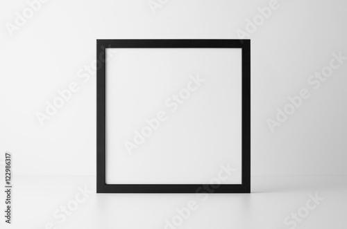 Fotografie, Obraz  Square Black Frame Mock-Up
