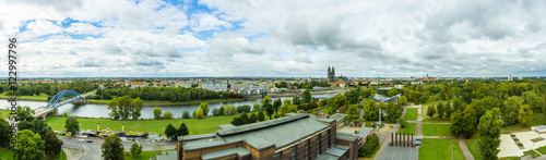 Recess Fitting Blue sky Magdeburg - Panorama