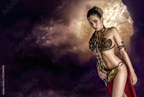 Fotografie, Obraz  Princess in the dark