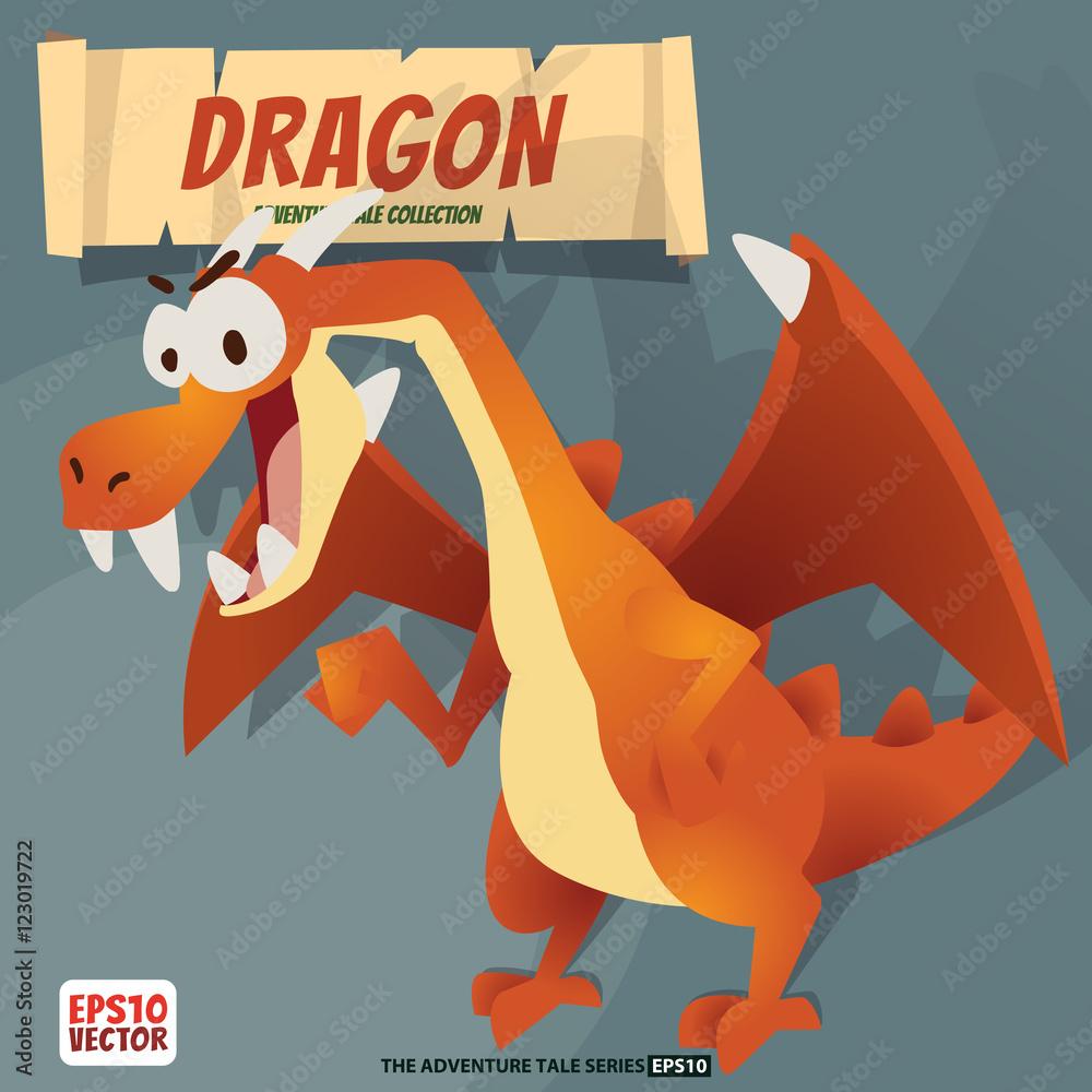 Red dragon Foto, Poster, Wandbilder bei EuroPosters