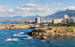 Kyrenia Coastline. The Kyrenia coastline in the Turkish Republic of Northern Cyprus.
