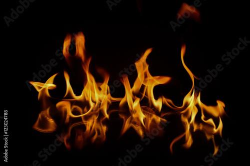 Ateş İle Oyun Olmaz Canvas Print