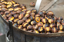 Roasting Chestnuts On The Gril...