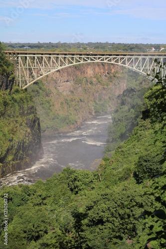 Photo  Victoria Falls Bridge in Africa