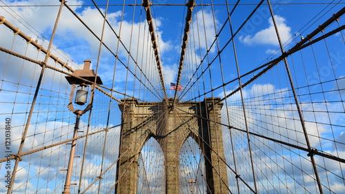 Obraz na płótnie Most Brookliński