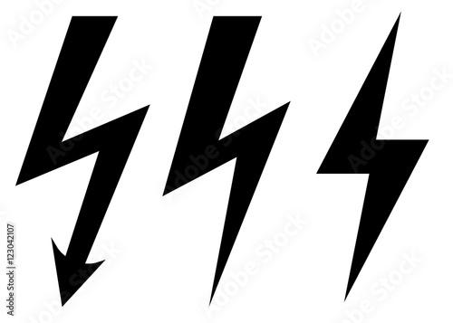 Leinwand Poster Blitz