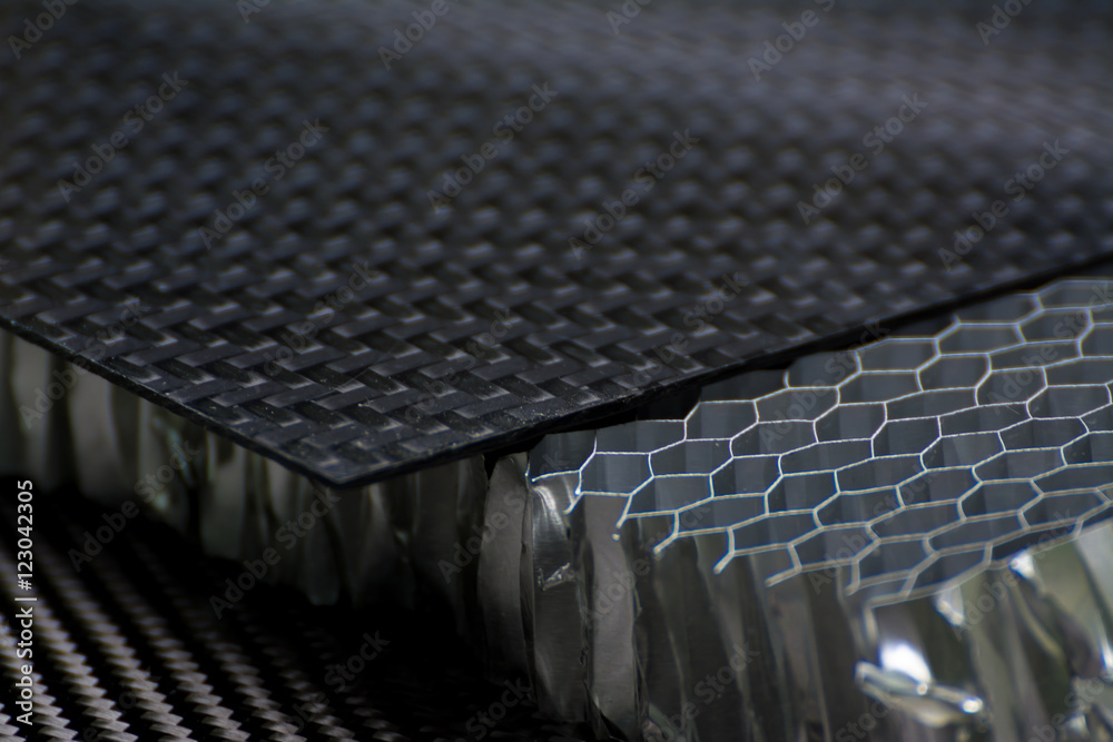 Fototapety, obrazy: Carbon fiber composite material background