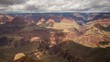 Time Lapse of Cloudscape over Grand Canyon National Park -Pan Left-