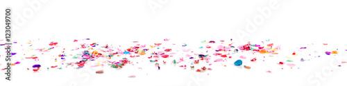 Obraz panorama mit Konfetti - fototapety do salonu