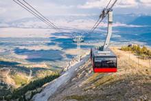 On The Top Of Mountain Ridge O...