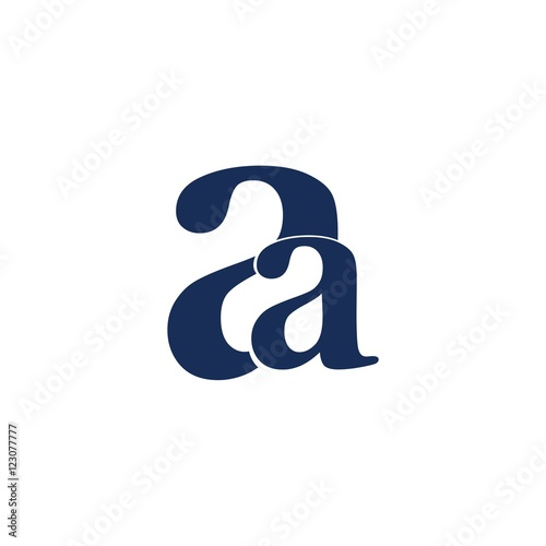 Aa Letter Initial Logo Design Buy This Stock Vector And