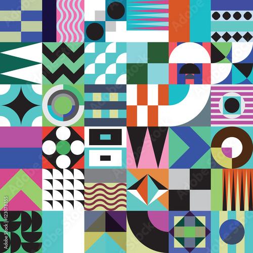 wzor-geometryczny-mozaiki