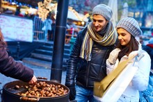 Roasted Chestnuts On The Street