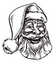 Christmas Santa Claus Vintage ...