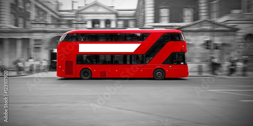 Cadres-photo bureau Londres bus rouge Bus Londonien .