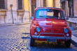 Old vehicle in Rome